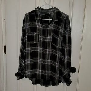 💚Attention plaid shirt